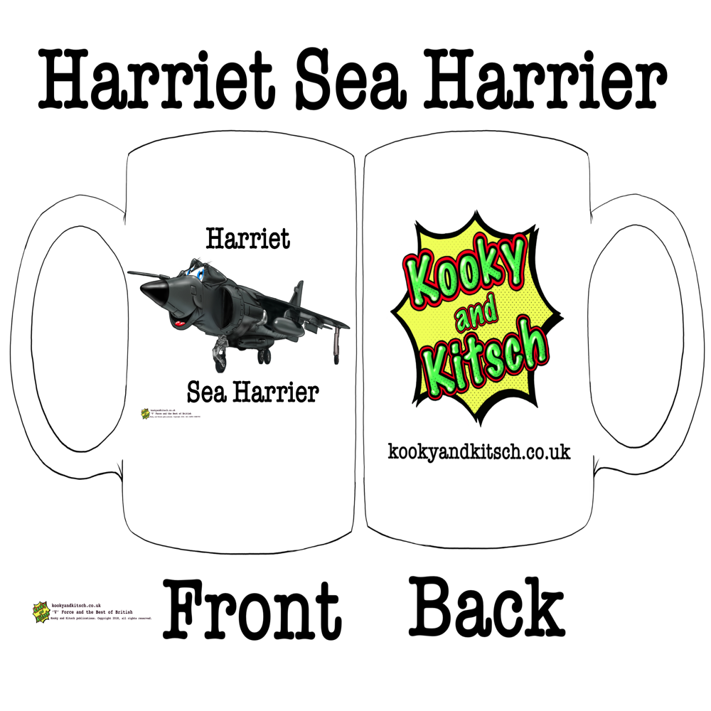 harriet sea harrier mug