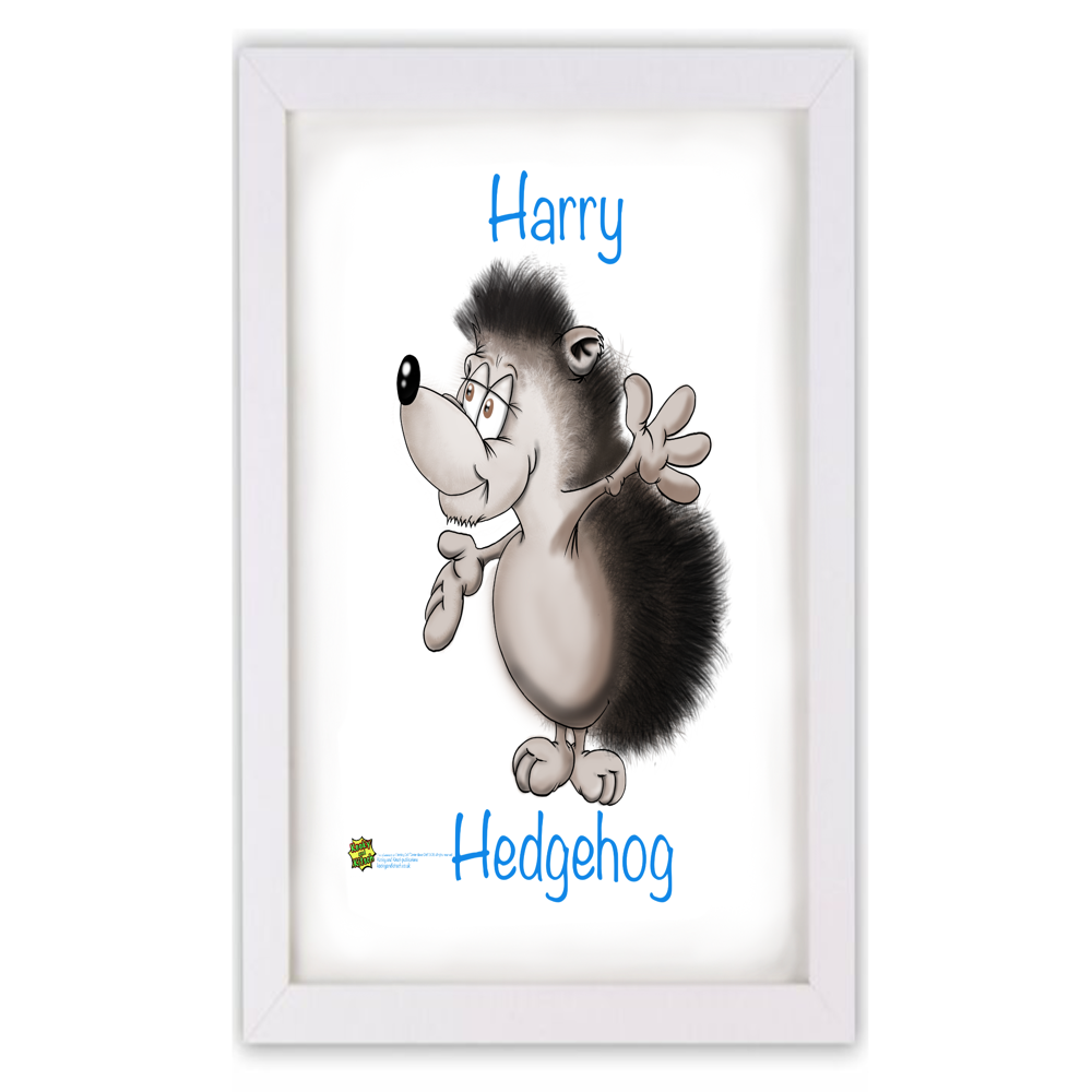 harry hedgehog frame