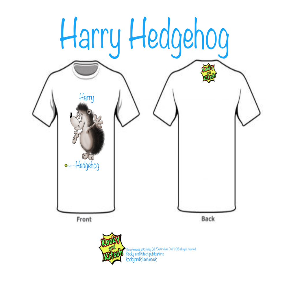 harry hedgehog t-shirt