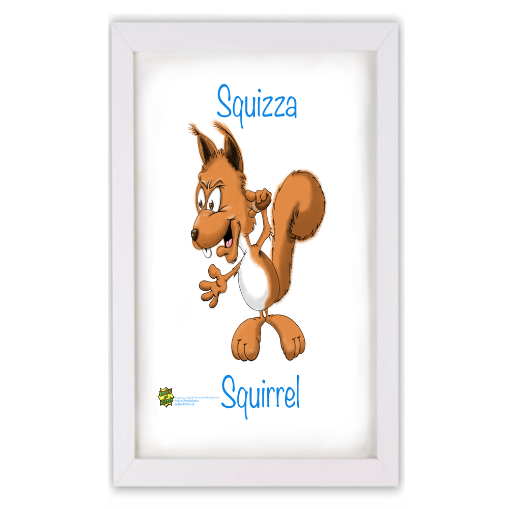 squizza squirl frame