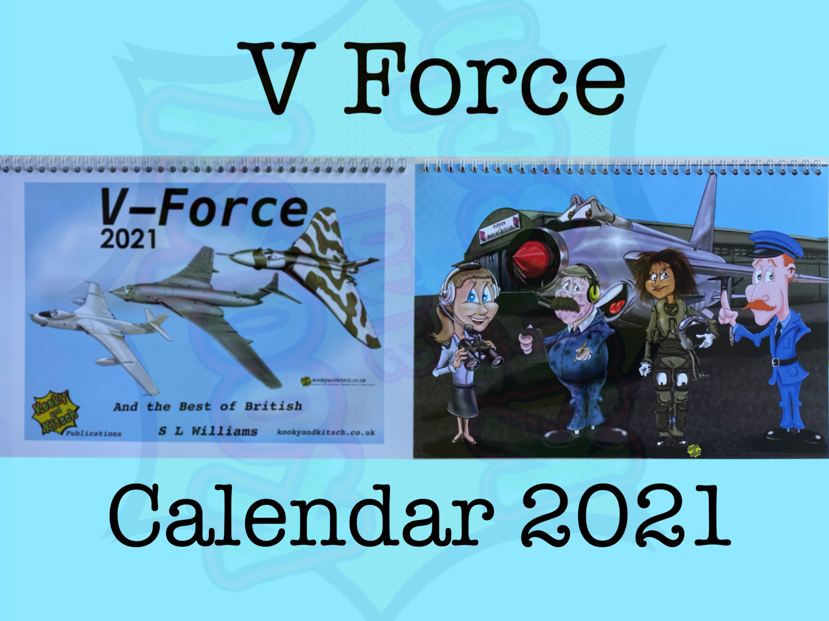 v force calendar title